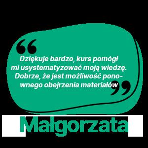 opinia małgorzata